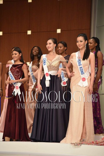 miss international contestants attend welcome party hinh 9