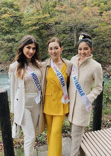 tuong san competes in talent segment at miss international hinh 11