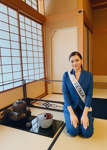 tuong san competes in talent segment at miss international hinh 5