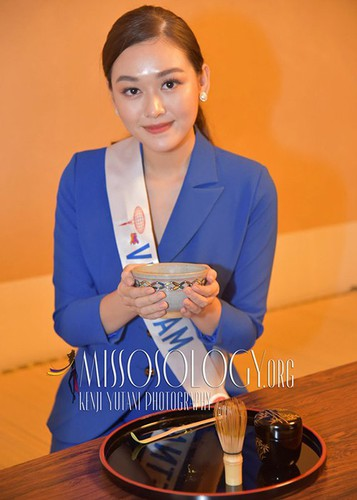 tuong san competes in talent segment at miss international hinh 6