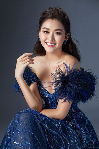 tuong san shines during glam shot segment at miss international pageant hinh 4