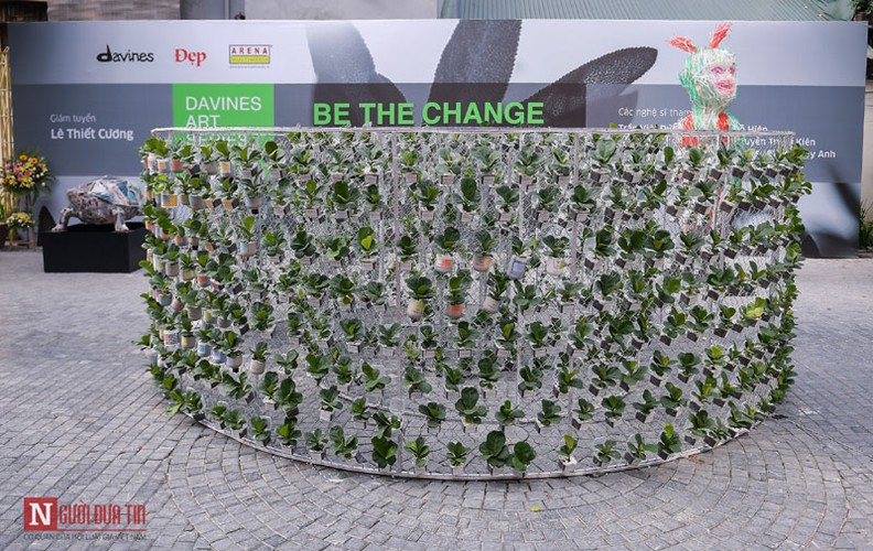 unique exhibition showcasing recycled plastic opens in hanoi hinh 7