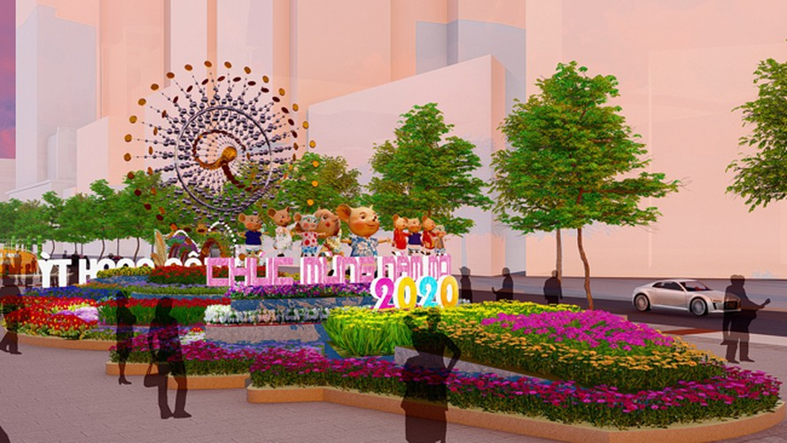 giant mice set to take over hcm city flower street ahead of lunar new year hinh 8