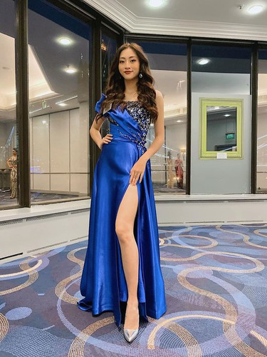 thuy linh among top 40 finalists during top model segment of miss world 2019 hinh 1