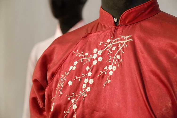 ao dai exhibition at vietnamese women's museum hinh 5