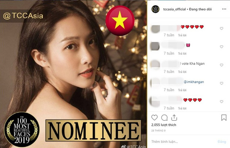 kha ngan among top 100 most beautiful faces 2019 in asia hinh 1