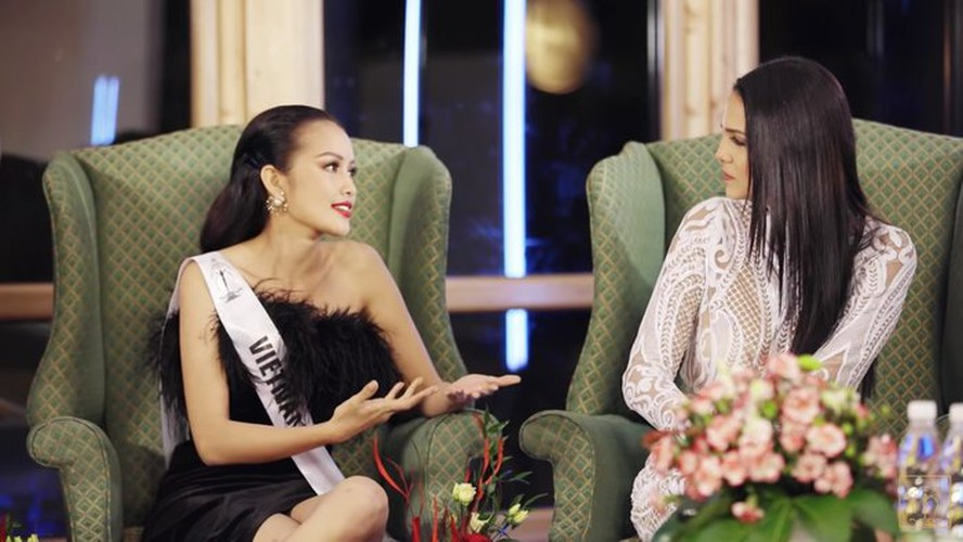 ngoc chau wins first round of suprachat segment at miss supranational 2019 hinh 2