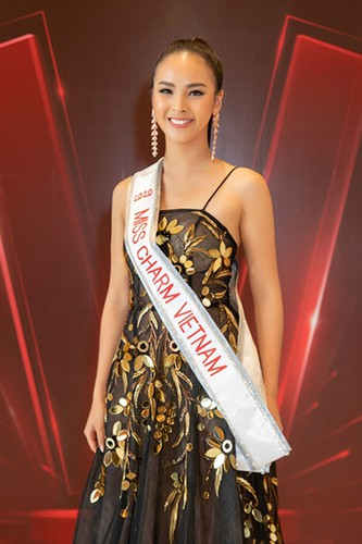 quynh nga selected as vietnam's entrant at miss charm international 2020 hinh 1