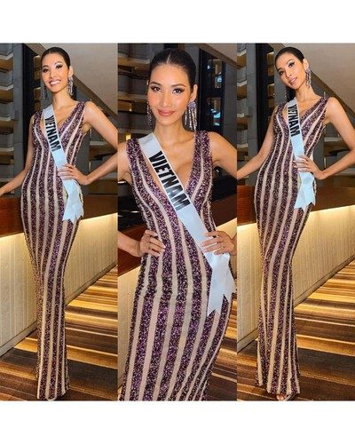 hoang thuy finishes among the top 20 of miss universe 2019 hinh 7