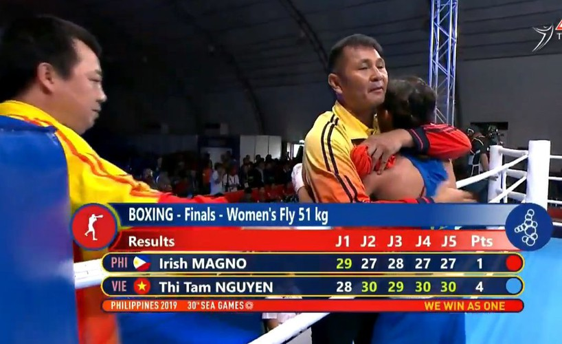 vietnamese athletes win 70 gold medals during ongoing sea games 30 hinh 1