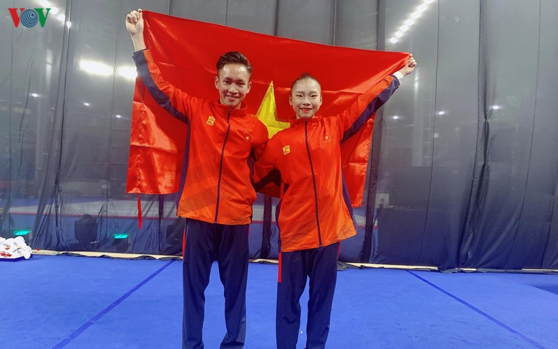 vietnamese athletes win 70 gold medals during ongoing sea games 30 hinh 12