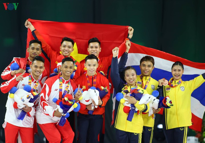 vietnamese athletes win 70 gold medals during ongoing sea games 30 hinh 3