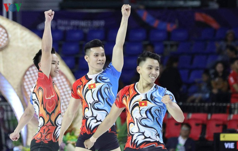 vietnamese athletes win 70 gold medals during ongoing sea games 30 hinh 5