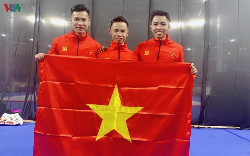 vietnamese athletes win 70 gold medals during ongoing sea games 30 hinh 8