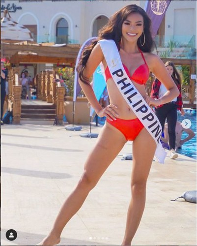 thuy an puts in confident display at swimsuit segment of miss intercontinental hinh 3