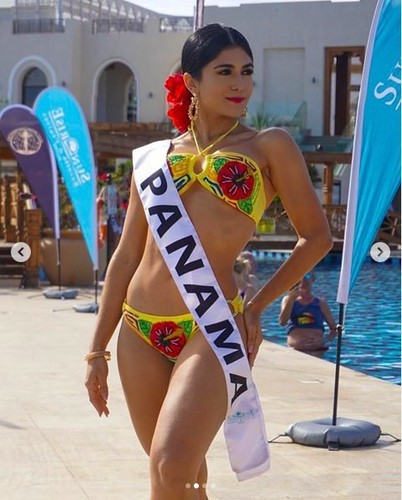 thuy an puts in confident display at swimsuit segment of miss intercontinental hinh 5
