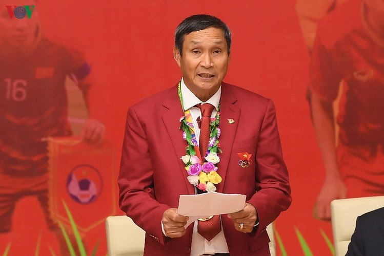 pm hosts welcome party praising vietnamese football's success at sea games hinh 3