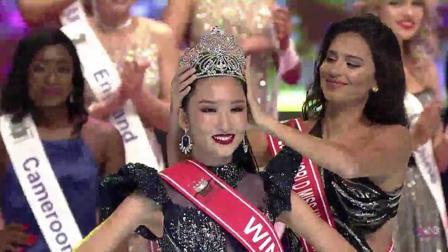 thanh khoa wins world miss university 2019 crown hinh 3