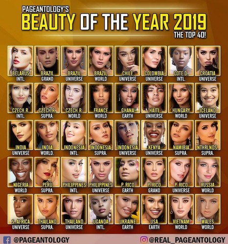 thuy linh named among top 25 in beauty of the year 2019 poll hinh 2