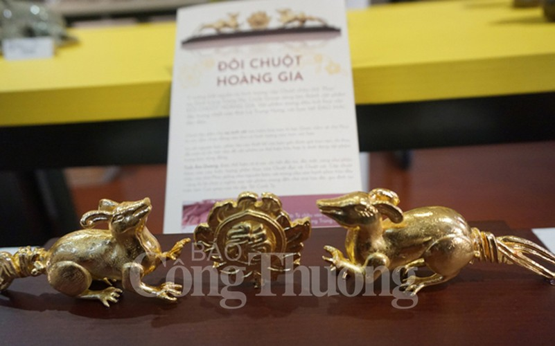 exhibition in hanoi opens to mark upcoming year of rat hinh 2