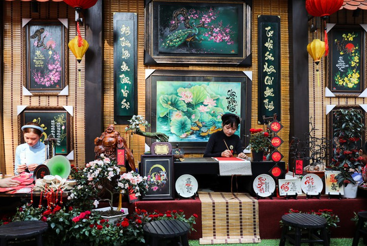 calligraphy street in hcm city opens in countdown to tet hinh 2