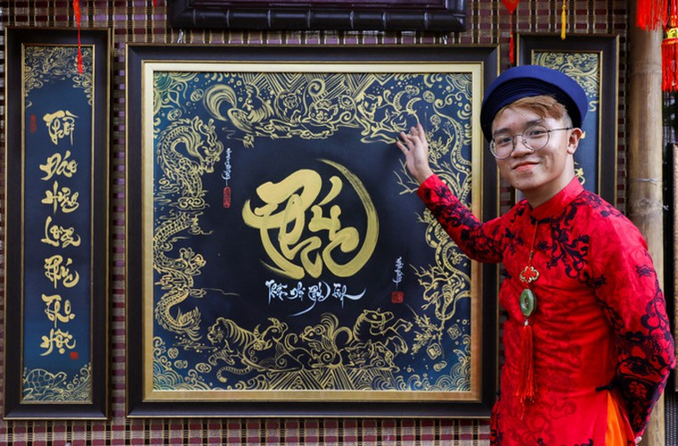 calligraphy street in hcm city opens in countdown to tet hinh 5