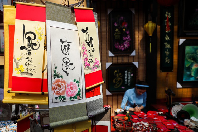 calligraphy street in hcm city opens in countdown to tet hinh 7