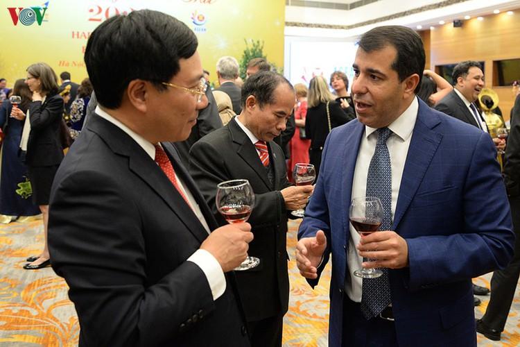 diplomatic representatives hosted by deputy pm at new year banquet hinh 11