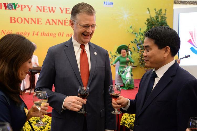 diplomatic representatives hosted by deputy pm at new year banquet hinh 12