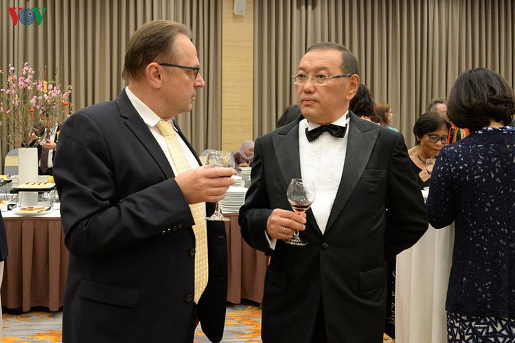 diplomatic representatives hosted by deputy pm at new year banquet hinh 18