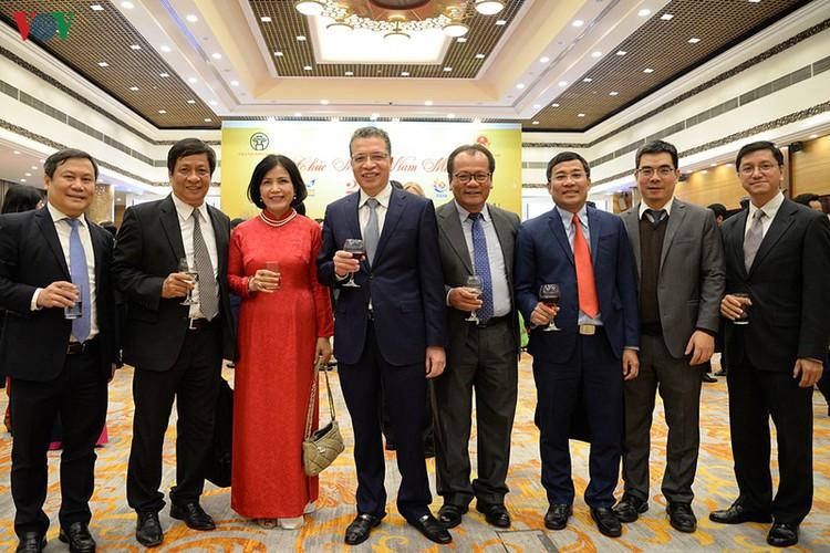 diplomatic representatives hosted by deputy pm at new year banquet hinh 21