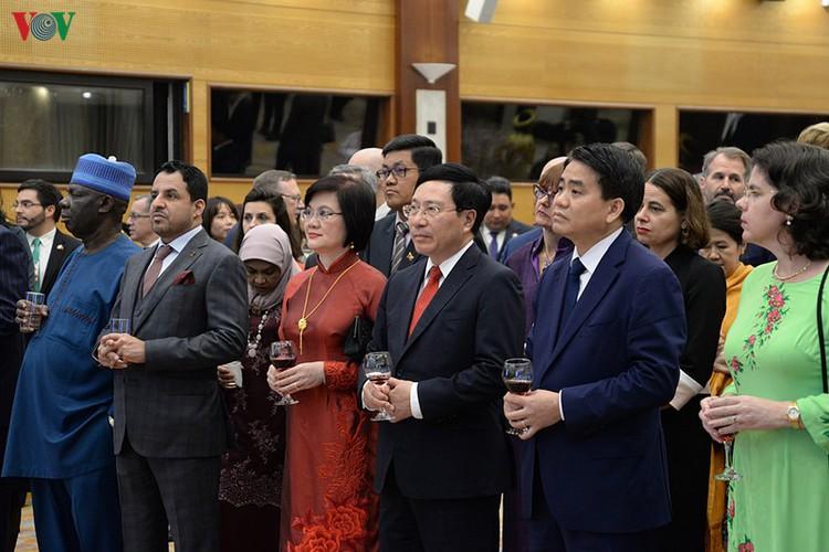 diplomatic representatives hosted by deputy pm at new year banquet hinh 3