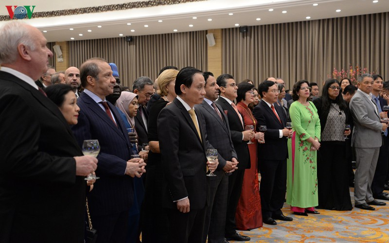 diplomatic representatives hosted by deputy pm at new year banquet hinh 4