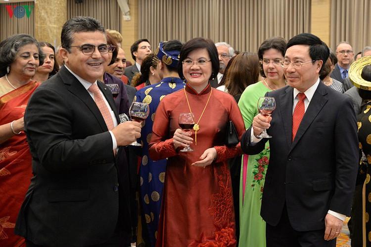 diplomatic representatives hosted by deputy pm at new year banquet hinh 5