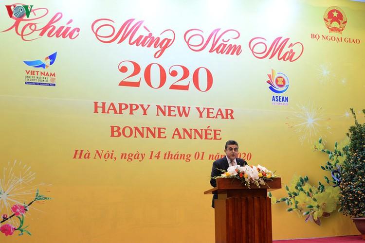 diplomatic representatives hosted by deputy pm at new year banquet hinh 7