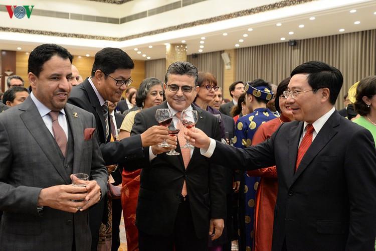 diplomatic representatives hosted by deputy pm at new year banquet hinh 8