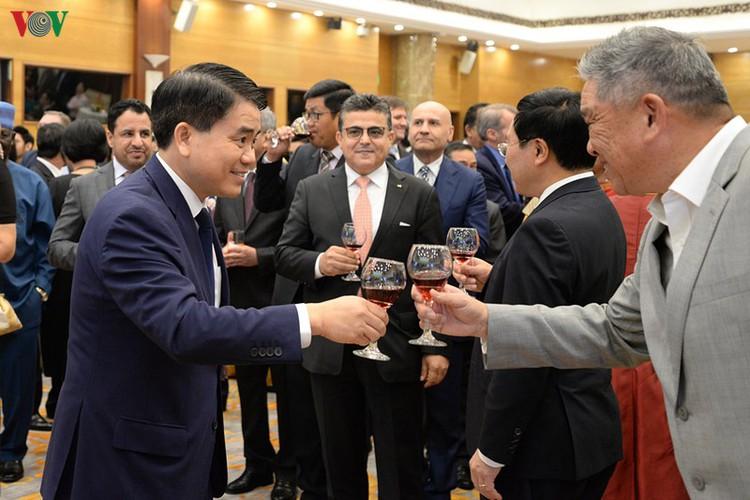 diplomatic representatives hosted by deputy pm at new year banquet hinh 9