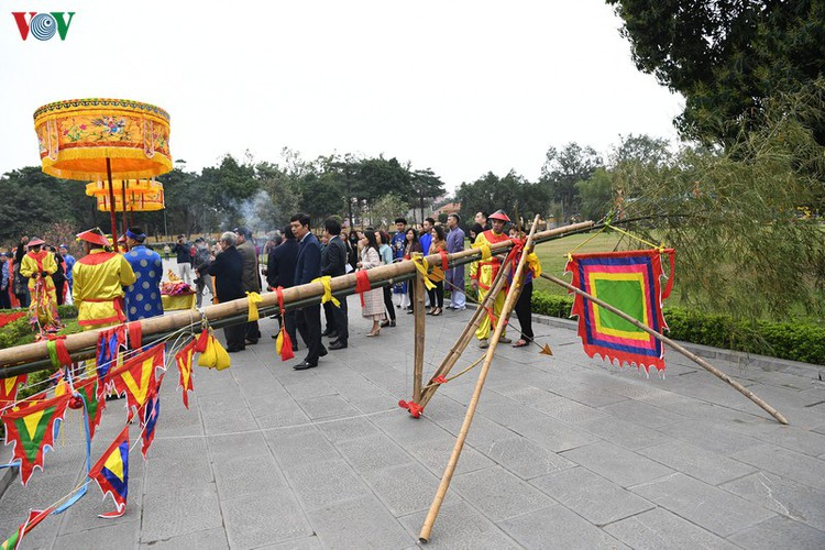thang long relic site hosts re-enactments of traditional tet rituals hinh 10