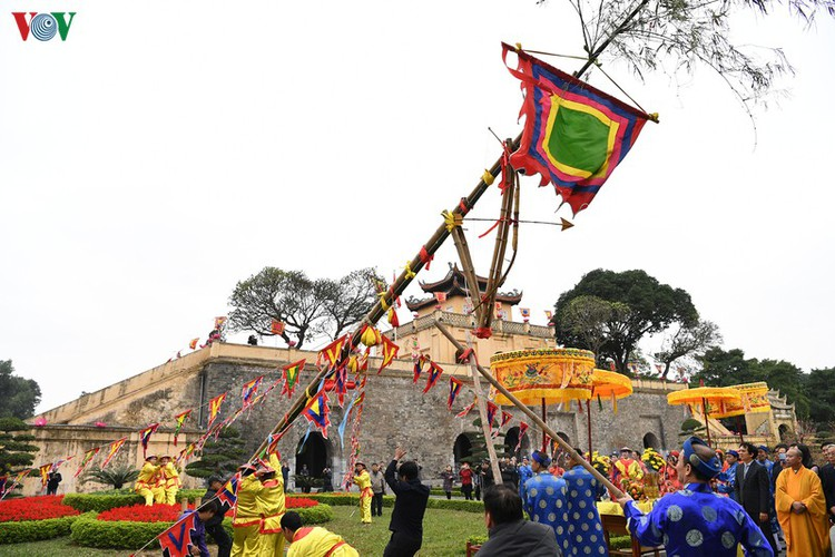 thang long relic site hosts re-enactments of traditional tet rituals hinh 15