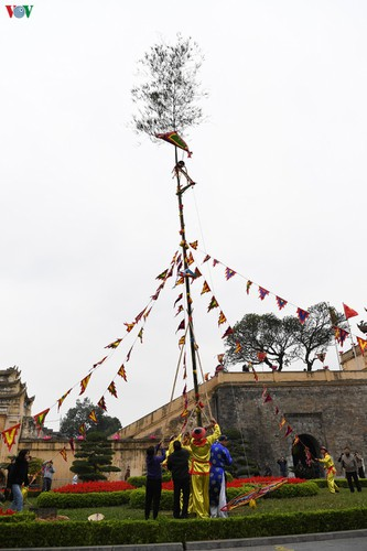 thang long relic site hosts re-enactments of traditional tet rituals hinh 16