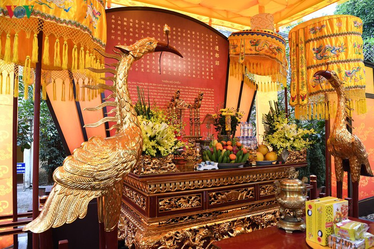 thang long relic site hosts re-enactments of traditional tet rituals hinh 2