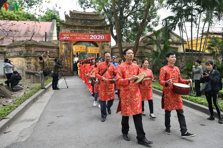thang long relic site hosts re-enactments of traditional tet rituals hinh 5