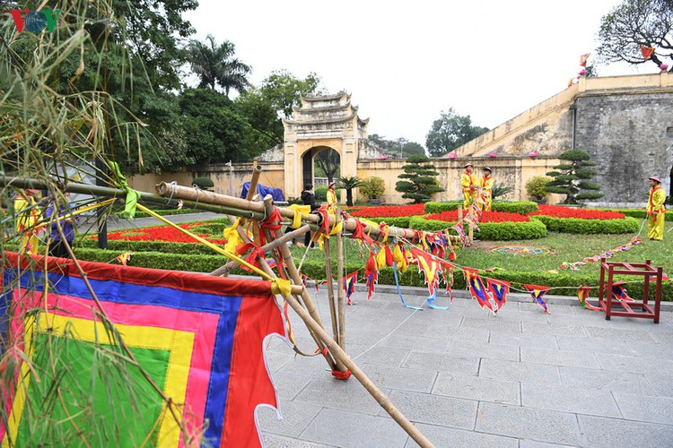 thang long relic site hosts re-enactments of traditional tet rituals hinh 9