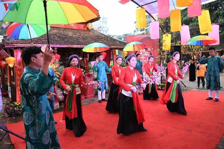 hanoi calligraphy festival set to run during tet hinh 3
