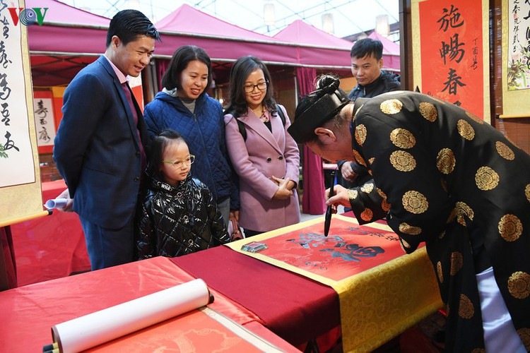 hanoi calligraphy festival set to run during tet hinh 4