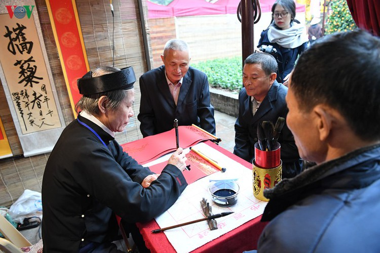 hanoi calligraphy festival set to run during tet hinh 5