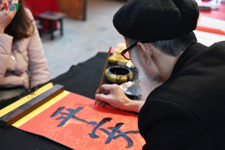 hanoi calligraphy festival set to run during tet hinh 8