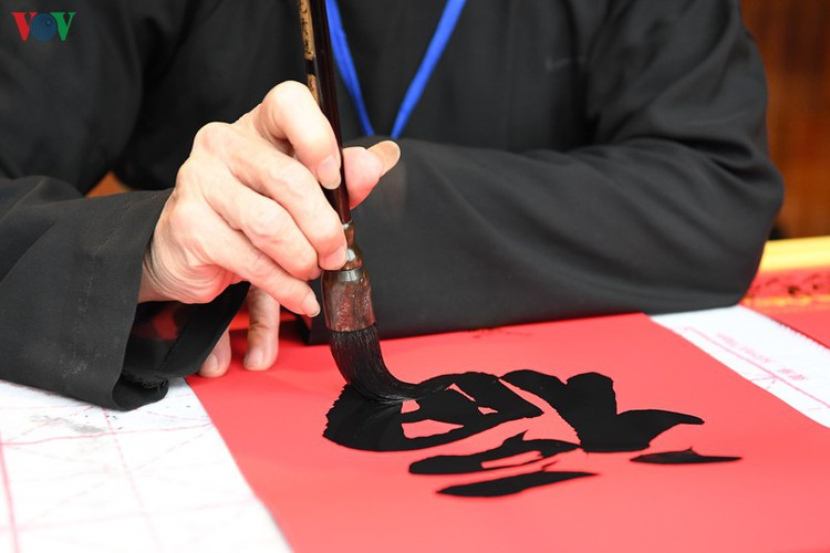 hanoi calligraphy festival set to run during tet hinh 9