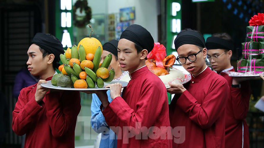 images of old tet recreated in hanoi's old quarter hinh 8