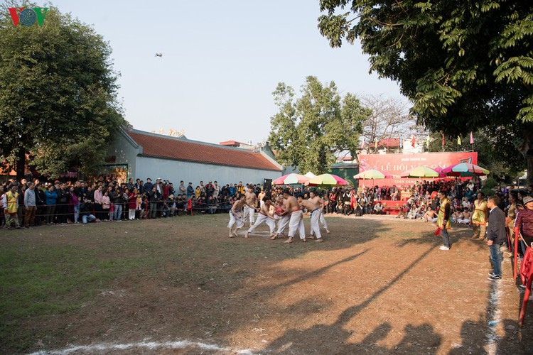 thrilling vat cau festival excites crowds in hanoi hinh 1